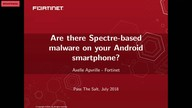 Are there Spectre-based malware on your Android smartphone?