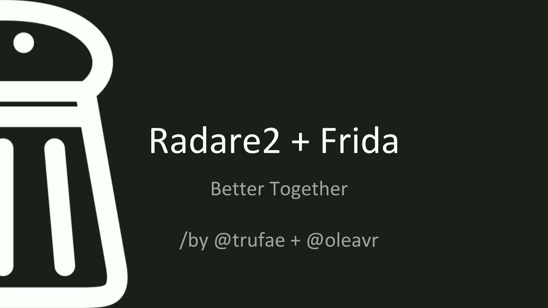 r2frida - Better Together - les archives de Pass the SALT