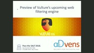 Preview of Vulture's upcoming web filtering engine